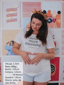 T-shirt Women Branca -4