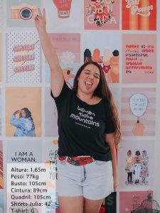 T-shirt Women Preta -14