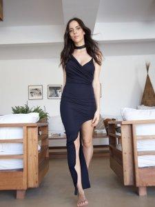 Vestido Assimétrico-4