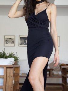 Vestido Assimétrico-6
