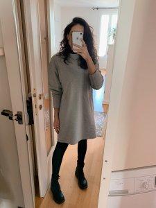 Vestido Moletom Cinza -4