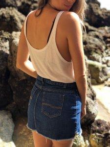Saia Giovana Jeans -3