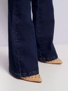 Calça Jeans Flare Escura SEGUNDA LINHA-3