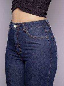 Calça Jeans Reta -4