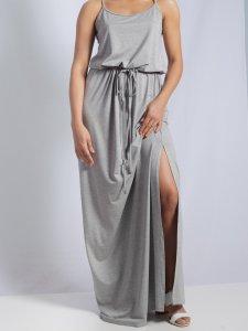 Vestido Alice Mescla Longo-9