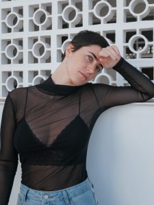 Blusa Fabiana Tule -1